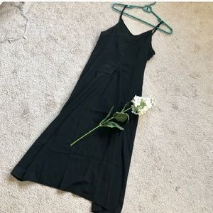 Maxi slit top/dress
